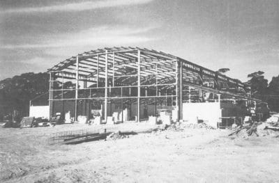 Building the new Assembly Hall (1987)