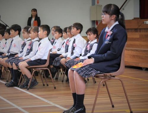 日本人学級入学式・Japanese Division Entrance Ceremony