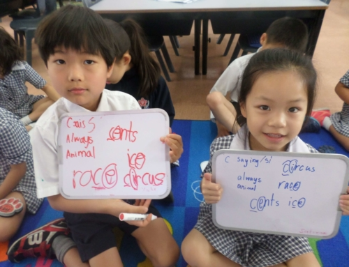 Changing the way students learn to read and write・新リテラシープログラムの導入